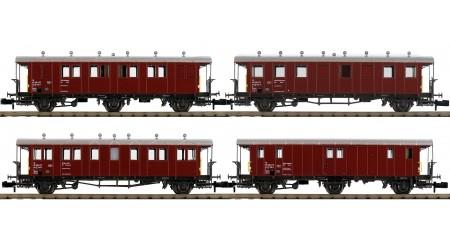 Piko 94346 Bauzug-Wagen-Set SBB