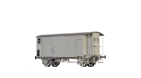 Brawa 47848 Gedeckter Güterwagen mit Bremserhaus K2 der SBB mit AC-Achsen