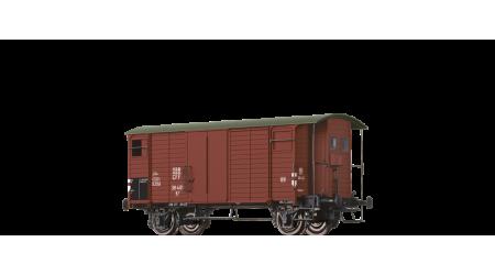Brawa 47849 Gedeckter Güterwagen mit Bremserhaus K2 der SBB mit AC-Achsen