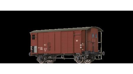 Brawa 47855 Gedeckter Güterwagen mit Bremserhaus K2 der BLS mit AC-Achsen