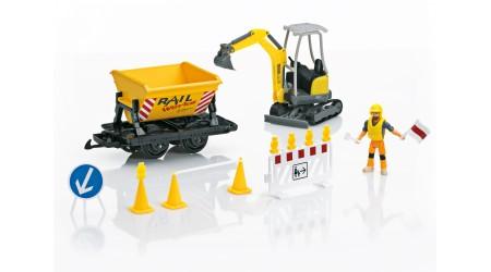 LGB 49501 Ergänzungs-Set Baustelle