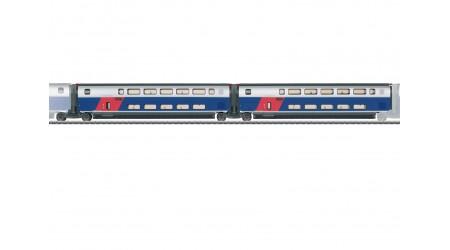 Märklin 43423 Ergänzungswagen-Set 1 zum TGV Euroduplex