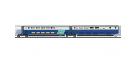 Märklin 43443 Ergänzungswagen-Set 3 zum TGV Euroduplex