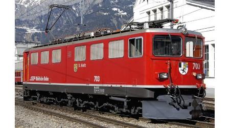 """Bemo 1354 143 Universal-Lokomotive Ge 6/6 II """"St. Moritz"""" der RhB"""