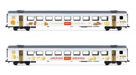 """Liliput 330535 - 2 teiliges Personenwagen Set """"Kambly"""", EW III der BLS"""