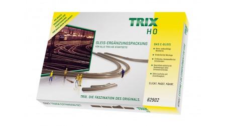 Trix 62902 C-Gleis Ergänzungspackung C2