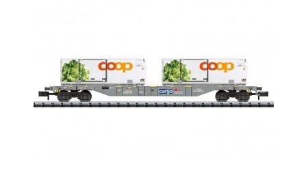 "Minitrix 15470 Containertragwagen ""coop®"""