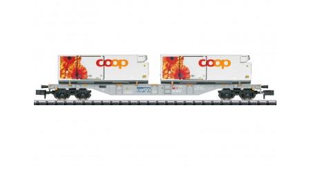 "Minitrix 15491 Containertragwagen ""coop®"""