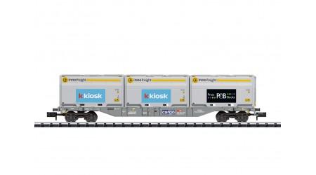 Minitrix 18405 Containertragwagen Bauart Sgnss