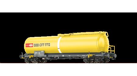 """Brawa 48778 Neubaukesselwagen SBB """"Wasserwagen"""" mit AC-Achsen"""