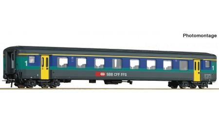 Roco 74565, 74566, 74567, 74568 - 4 teiliges Set Personen- Gepäckwagenwagen EW II, der SBB