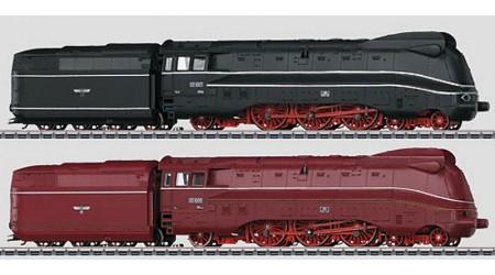 Märklin 37912 Set mit 2 Stromlinien-Dampflokomotiven