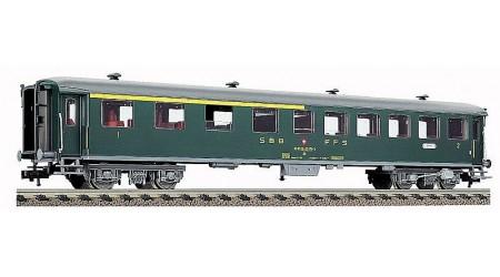 Fleischmann 5938 Personenwagen 1./2. Klasse der SBB, Epoche IV