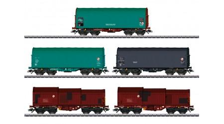 Märklin 46875 Güterwagen-Set der SNCB