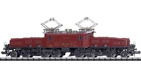 """Minitrix 16682 Elektrolokomotive Serie Ce 6/8 III """"Krokodil"""""""