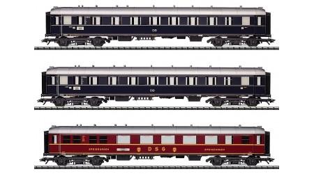 """Trix 23347 Schnellzugwagren-Set """"Domspatz"""" der Deutschen Bundesbahn"""