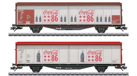 """Märklin 48345 Schiebewandwagen-Set """"Coca-Cola"""""""