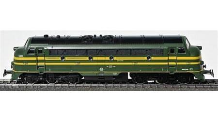 Märklin 3066 Diesel-Lokomotive der SNCB, Digital mit Hochleistungsantrieb