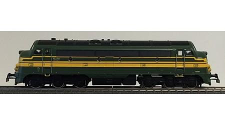 Märklin 3133 Diesel-Lokomotive der SNCB, Digital mit Hochleistungsantrieb