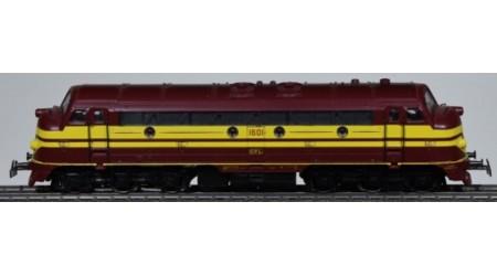 Märklin 3134 Diesel-Lokomotive der CFL, Digital mit Hochleistungsantrieb