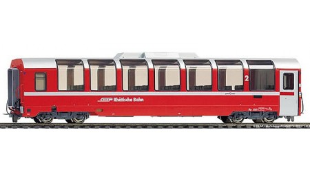 """Bemo 3294 102 Panoramawagen 2. Klasse B 2502 der RhB """"Bernina-Express"""""""