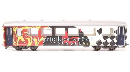 """Bemo 3256 171 Gesellschaftswagen """"Star(c)kes Stück"""" As 1171 der RhB"""