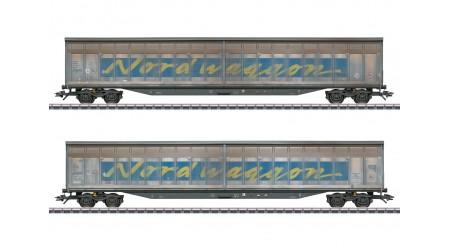 "Märklin 48065 Schiebewandwagen-Set ""Transwaggon"""