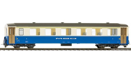Bemo 3292 314 Personenwagen A 104, 1. Klasse der MOB