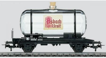 """Minitrix 15035 Glaskesselwagen """"Asbach Uralt"""""""