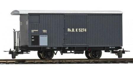 Bemo 7494 100-02 Gedeckter Güterwagen K 5268 der RhB