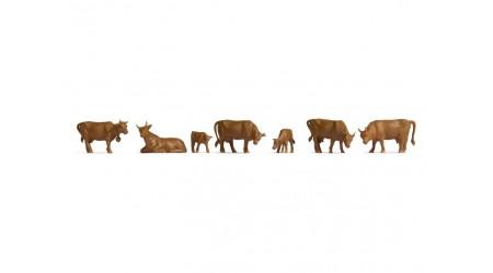 Noch 18216 Kühe braun