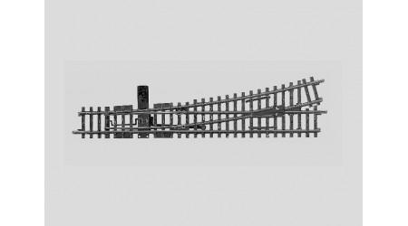 Märklin 2272 K-Gleis Weiche links, mit beweglichem Herzstück