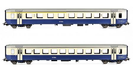 Piko 96794 - 2 teiliges Personenwagen-Set AC der BLS