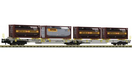 Fleischmann 825026 Doppeltragwagen der AAE