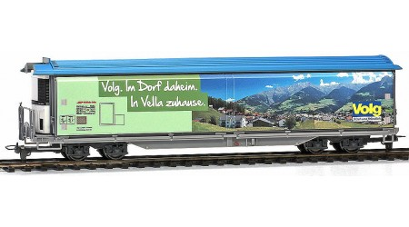 """Bemo 2288 164 Schiebewandwagen Haiqq-tuyz 5164 der RhB, Volg """"Vella"""""""