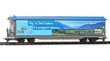 """Bemo 2288 165 Schiebewandwagen Haiqq-tuyz 5165 der RhB, Volg """"Landquart"""""""