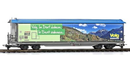 """Bemo 2288 167 Schiebewandwagen Haiqq-tuyz 5167 der RhB, Volg """"Sent"""""""