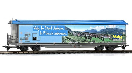 """Bemo 2288 168 Schiebewandwagen Haiqq-tuyz 5168 der RhB, Volg """"Fläsch"""""""