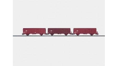 Märklin 47313 - 3 Gedeckte Güterwagen der NS