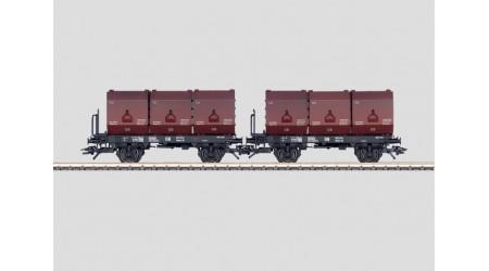 Märklin 48271 Behälter-Tragwagen-Set der DB
