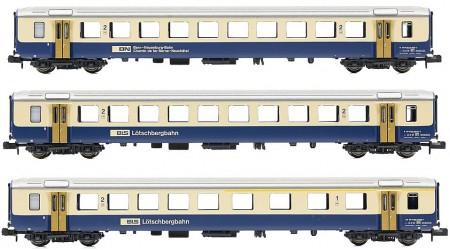 Piko 94395 - 3 teiliges Personenwagen-Set der BLS / BN