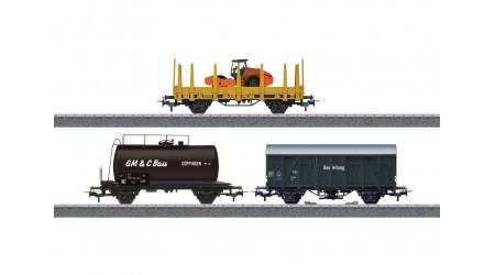 """Märklin 44083 Güterwagen-Set """"Baustelle"""""""